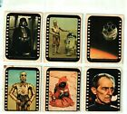 1977 Topps Star Wars Sticker Card Set OF 11 Series 3 YELLOW EXCELLENT ++ TO NM
