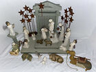 Willow Tree Nativity Set 23 Pieces Crche Metal Stars Read Offers Welcome