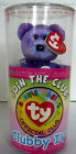 TY BEANIE BABIES CLUBBY IV OFFICIAL JOIN THE CLUB COLLECTOR KIT SEALED MINT