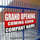 Grand Opening Company Name Custom Banner Sign Multiple Sizes