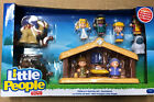 Fisher Little People T2542 Childrens Nativity Christmas Set