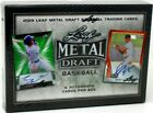 2019 Leaf Metal Draft Baseball Sealed Hobby Box 6 Autos with Free Shipping!