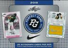 2018 Leaf Perfect Game National Showcase Hobby Box 25 Autos with Free Shipping!