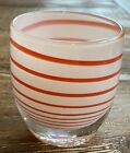 GLASSYBABY  LIMITED  CANDY CANE Votive Candle Holder  BRAND NEW RARE