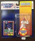 1994 Edition Kenner Starting Lineup Will Clark Texas Rangers Extended Series MLB