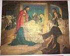 VINTAGE RARE 1930s WILKIE DIE CUT PUZZLE BIRTH OF CHRIST 500 PIECE COLORED