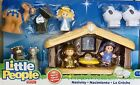 NIB Fisher Price Little People Nativity Toy Set