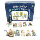 Button Jar Kids Christmas Pagent Nativity Set Scene Figures