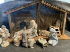 Llardo Porcelain Nativity Scene Beautiful Grouping