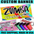 Printed Full Color Custom Banner Sign Grommets Or Hems Outdoors Indoor Fitness 2
