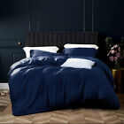 Hotel Quality 3 Pieces Ultra Soft Silky Satin Duvet Cover Sets Twin Queen King