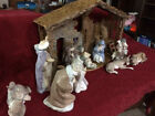 Lladro Nativity Set w creche one owner orig box MINT nonsmoke home