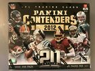 2012 Contenders Football Hobby Box Factory Sealed Case Fresh 5 Autos