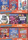 Wacky Packages Stickers Series Nine Cereal Card Box Collection 9 different boxes