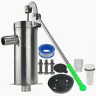 Stainless Steel Home Manual Water Pump Domestic Well Hand Shake Suction Pump Kit
