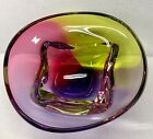 Paul Harrie Art Glass Signed Bowl 2012 With Label 9