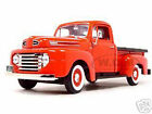 1948 FORD F 1 PICKUP TRUCK RED 1 18 DIECAST MODEL CAR BY ROAD SIGNATURE 92218