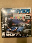 PS1 Driver NEW Sealed You Are The Wheelman Demo PlayStation 1 Rare Toys R Us