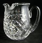WATERFORD CRYSTAL GLANDORE ICE LIP JUG PITCHER SIGNED 6 1 2