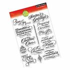 Penny Black 30 140 Christmas Cheer Clear Stamp