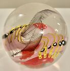 Unique Ingrid Donhauser Germany Rare Gallery Art Glass Paperweight Signed