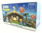 Fisher Price Little People Deluxe A Christmas Story Nativity Scene Playset w Box