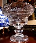 Waterford Crystal Heritage Prestige Collection Footed Centerpiece Bowl