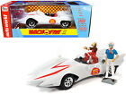 MACH 5 FIVE  CHIM CHIM  SPEED RACER FIGURES 1 18 DIECAST CAR AUTOWORLD AWSS124