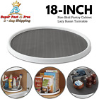 18 Inches Non Skid Pantry Cabinet Lazy Susan Rotating Turntable Home Kitchen NEW