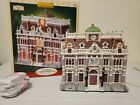 Lemax 2005 Village Collection LIGHTED HOUSE Public Library ***REPAIRED***