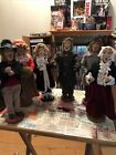 Christmas Carolers figurines statues Lot Byers Choice StyleLGRead Description
