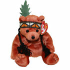 TY Beanie Baby - LITTLE FEATHER the Bear (7 inch) - MWMTs Stuffed Animal Toy