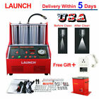 Launch CNC602A Ultrasonic Auto Fuel Injectors Cleaner Tester Cleaning Machine