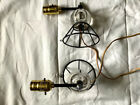 Vintage Wall lamps mid century modern glass ball