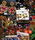 Vintage Modern Huge JEWELRY LOT Rhinestone Mixed Estate Free Ship 2+lbs ++