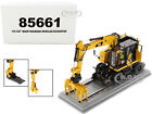CAT CATERPILLAR M323F RAILROAD EXCAVATOR SAFETY VER 1 50 DIECAST MASTERS 85661