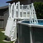 SD T Above Ground Pool Deck System 5 x 5 Vinyl Works Of Canada SD T