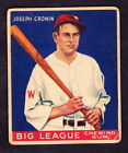 Top 10 Joe Cronin Baseball Cards 18
