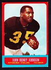 1963 Topps Football Cards 7