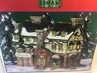 LEMAX Village Collectibles Timberline Ski Lodge 2004 NEW in BOX