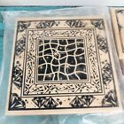 Lot Of 4 Rubber Stamps Club Scrap Limited Editions Mixed Media Altered Art NEW