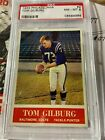 1964 PHILADELPHIA # 2 TOM GILBURG PSA 8 Colts