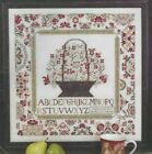 CORNWALL COTTAGE SAMPLER Flowers Counted Cross Stitch Pattern w WDW Thread