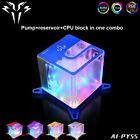 Water Cooling Pump Reservoir CPU Block in One Combo for PC Liquid Cooled System