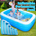 Inflatable Swimming Pools For Adult Kids Family Pool Home Out Indoor Backyard