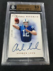 2012 Prime Signatures ANDREW LUCK RC Auto 149 BGS 9.5 w 10 - COMEBACK?!
