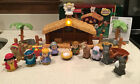 Fisher Price Little People A Christmas Story Nativity Set 2005 Complete Light