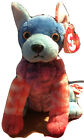 VINTAGE TY BEANIE BABIES 2002 HODGE-PODGE THE DOG, WITH HANGTAG.