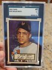 Vintage Willie Mays Baseball Card Timeline: 1951-1974 26
