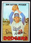 Don Sutton Baseball Cards and Autographed Memorabilia Guide 9